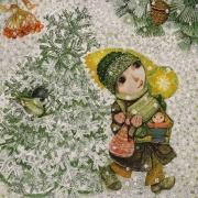 Jan Kudláček, Jiřina Rákosníková: Ten vánoční čas, 2006, kvaš