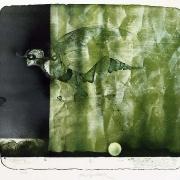 Vladimír Suchánek, Rozhodující okamžik, 1987, barevná litografie
