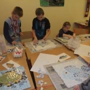 Římská mozaika - tvorba