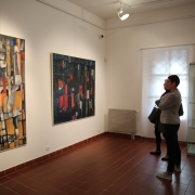 Vernisáž výstavy Josefa Sasky SÍLA BARVY_10