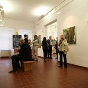 Vernisáž výstavy Josefa Sasky SÍLA BARVY_12