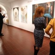 Vernisáž výstavy Milana Meda KRÁSA POHYBU_7