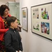 Vernisáž výstavy Haliny Weissové SRDEČNÉ POZDRAVY ZE ŠVÝCAR_5