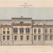 2 Návrh ku budově městského úřadu, 1866