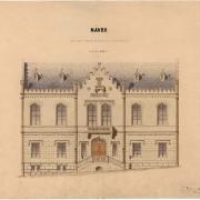 4 Viktor von Bernárdt, Návrh na přestavbu radnice,1867
