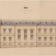 4 Viktor von Bernárdt, Návrh na přestavbu radnice - Svatovojtěšská,1867