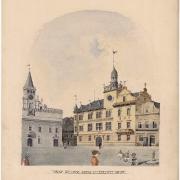 5 Karel Pokorný, Návrh úředního domu, 1901