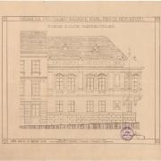 8 Josef Šupich, Návrh na přestavbu radnice, 1912