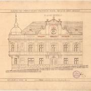 8a Josef Šupich a neznámý odborník z Prahy, Návrh na přestavbu radnice, 1913