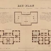 1 Martin Urban, Projekt městské nemocnice, 1854