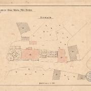 4 Jan Smrť, Zakreslení fasády a situace, 90. léta 19. století