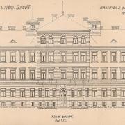 3 Prokop Šupich, Nástavba II. patra pro operační oddělení na hlavní  budově, 1927