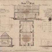 2 Martin Urban, Přestavba kontribuční sýpky na divadlo, 1852
