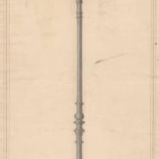 5 František Manoschek, Stojan se svítilnou, 1908