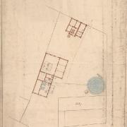 8 František Manoschek, Polohový plán městské plynárny v Německém Brodě