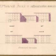 Bohumil Hübschmann, východní fasáda, SOkA Havlíčkův Brod