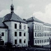 1 První útočiště školy - bývalá kaple sv. Barbory