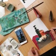Malujeme zátiší - online výtvarný kroužek březen/3_7