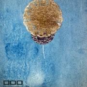 Modré pondělí: ilustrace Libuše Kaplanové, kombinovaná technika koláže ke knize katolického básníka Jakuba Demla: Moji přátelé