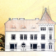 Bohumil Šel, Návrh okresního domu, 1910, SOkA  Havlíčkův Brod